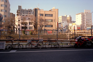 Scene near the Sugamo Station.