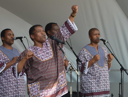 Ladysmith Black Mambazo by raise my voice
