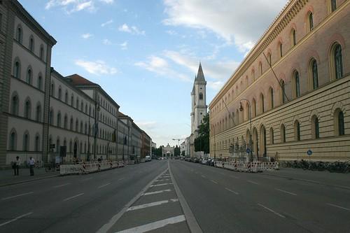 Blick in die Ludwigstraße