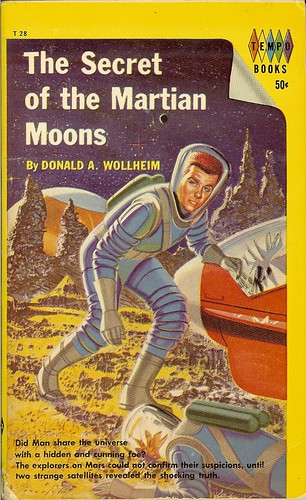 The Secret of the Martian Moons - Donald A. Wollheim - cover artist not available
