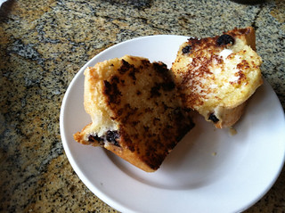 Grilled Blueberry Muffin, Word of Mouth, Sarasota, FL