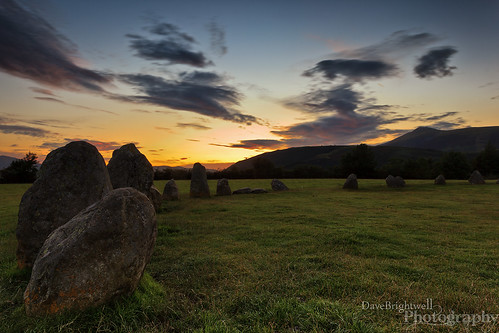 Castlerigg Sunset by Dave Brightwell