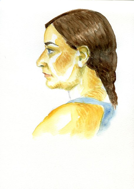 evening portrait