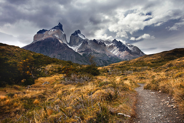 'By the Horn', Chile, Torre del Paine National Park, Cuernos del Paine