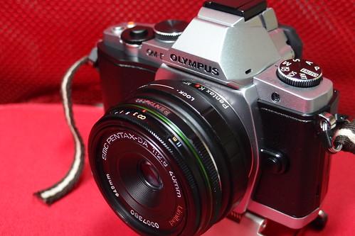 Olympus OM-D轉接Pentax DA鏡