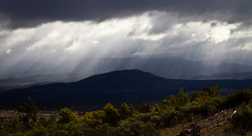 Brindabella Storm - from Mt Stromlo
