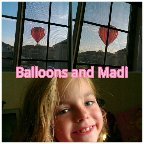 My beauty joined me in watching balloons. #photoshake #picsaypro