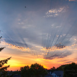 """One of the most beautiful sunsets in long time … and I'm at home. My neighbour run to the door and yells """" Janusz – you have to see the sunset !!! """" , I run to the patio and here we go , grabbed camera and ladder and started shooting from the roof.  One thing … I would love for our house to be taller   I'm more often on FB - add me if you like www.facebook.com/Photoby"""