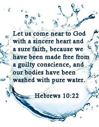 Image result for Hebrews 10:22