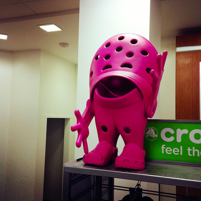 Crocs-Man