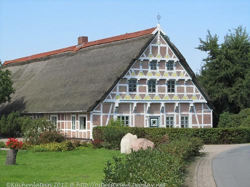 Reich verziertes Bauernhaus