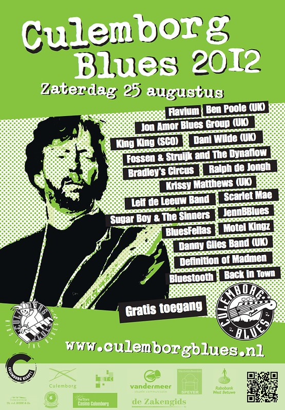 Culemborg Blues 2012 Poster