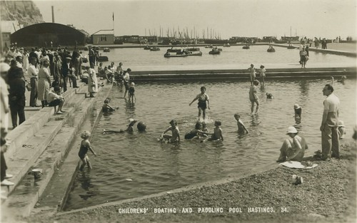 Hastings Boating Lake and Paddling Pool