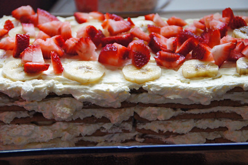 Banana Split Icebox Cake (16)