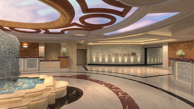 royal princess lotus spa