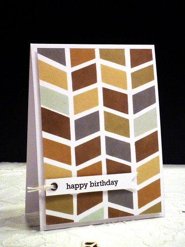 Herringbone Birthday
