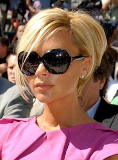 Victoria's sunglasses - Victoria Beckham's fashion.. planning from England to America ..