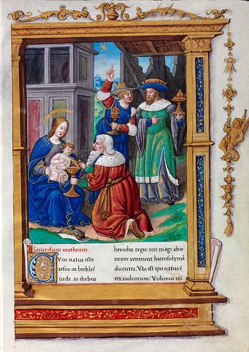 007-Evangeliario de París para uso de Carlos Duque de Angulema-1500-1600-Copyright Biblioteca Digital Hispánica