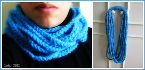 Chain Loop Circle Scarf