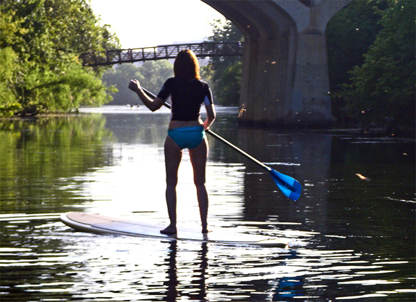 paddle board in austin