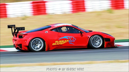 Miguel Toril - F458 GT3 - Russian Bears Motorsport