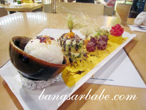 Special Yuzu Dessert copy