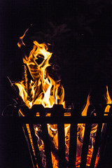 the face in the fire !!!