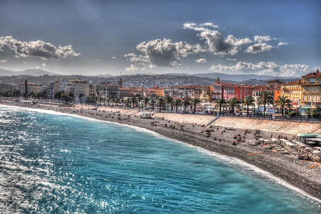French Riviera - Promenade de Anglais at Nice