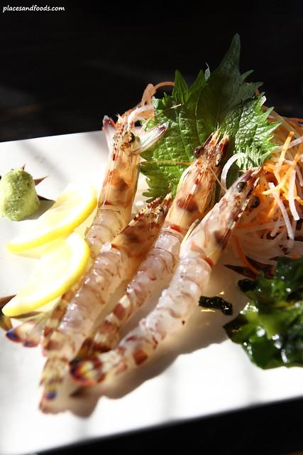 Kai Oh Maru 海王丸 prawn sashimi