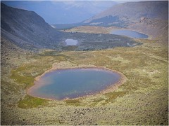 mountain, reservoir, lake, hill, geology, plateau, landscape, aerial photography,
