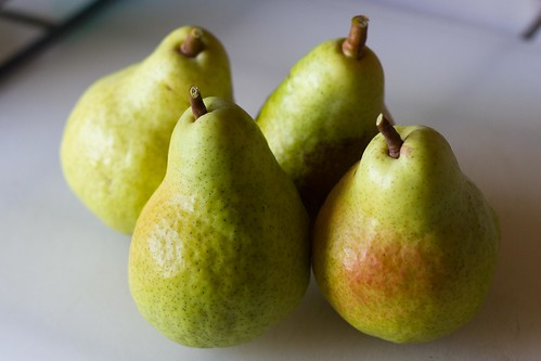 Bartlett Pear harvest 2012