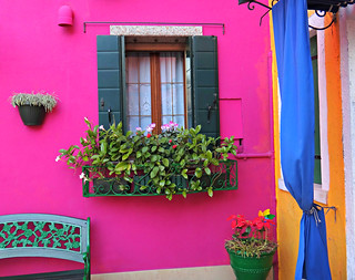 The Bright Colors of Burano