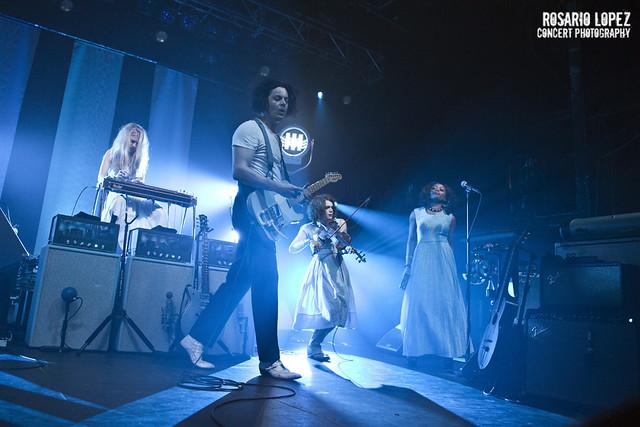 Jack White en concierto en Razzmatazz