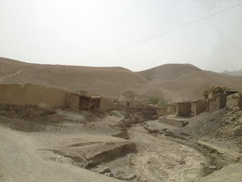 road bridge afghanistan children landscape donkey landslide saltmine takhar namakab developementafghanistanţāqchahkhānahaf