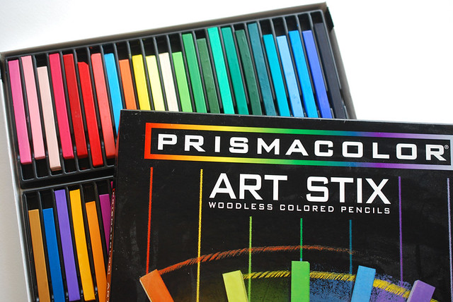 colored pencil tinting