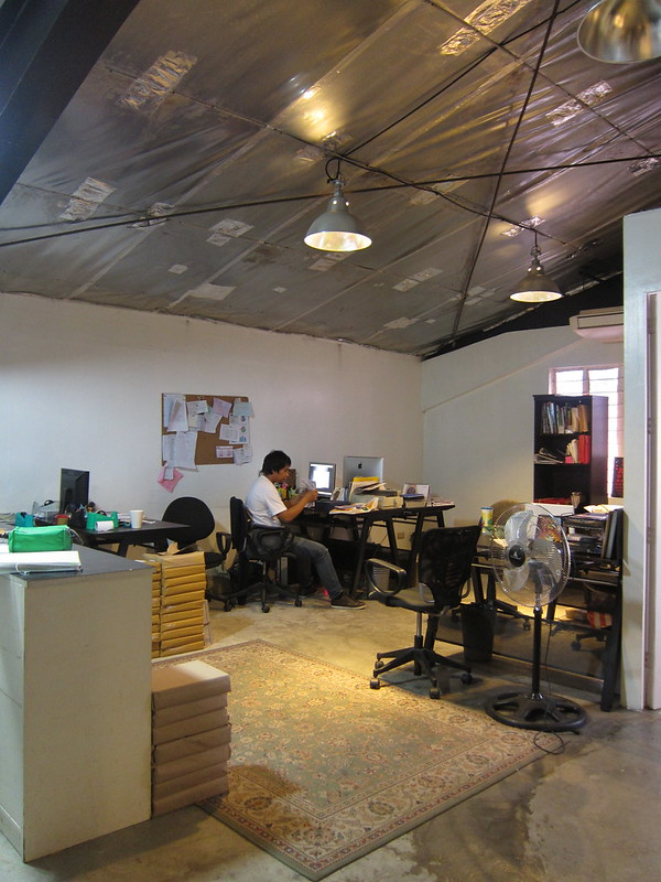 Rogue magazine office