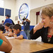 5th Graders taste new school foods