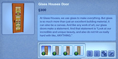 Glass Houses door