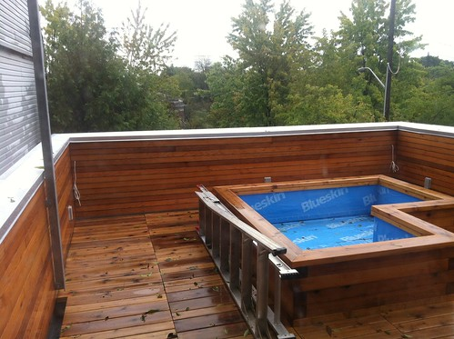 not a hot tub, a planter