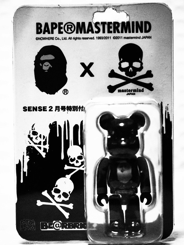 SENSE × A BATHING APE × mastermind JAPAN × BE@RBRICK
