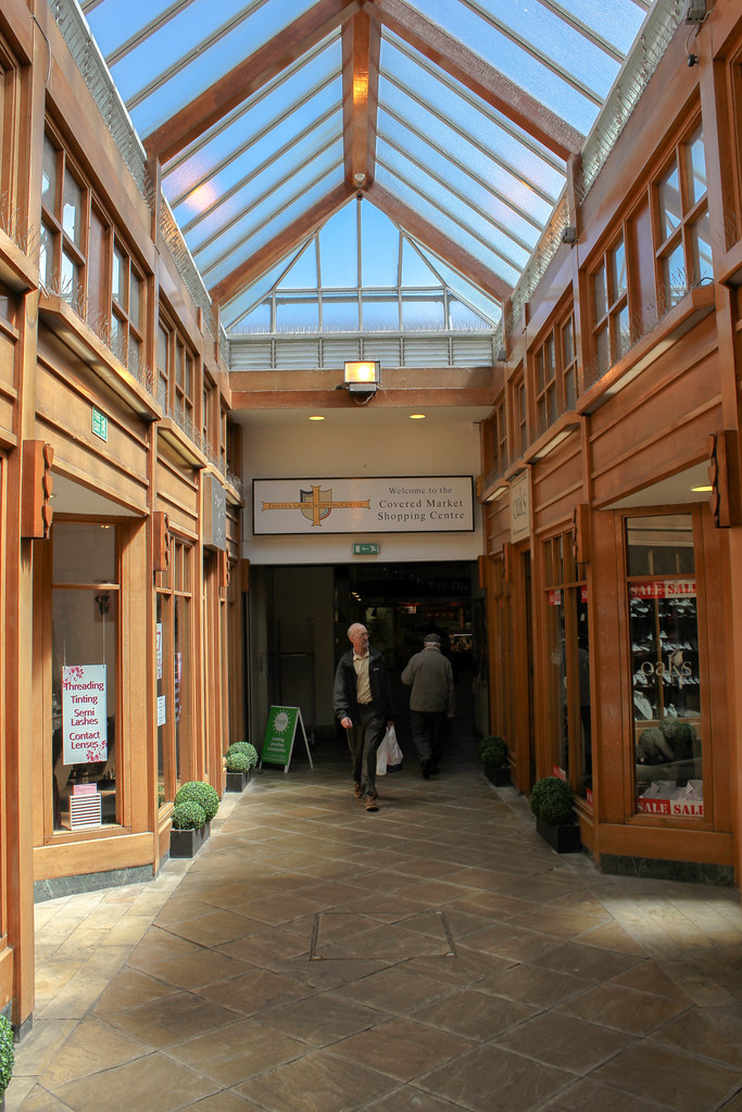 Entrada del Covered Market de Oxford