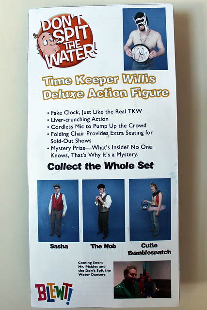 Time Keeper Willis Deluxe Action Figure - back