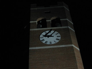 WCU clock tower
