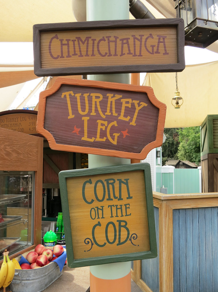Disneyland's Turkey Legs