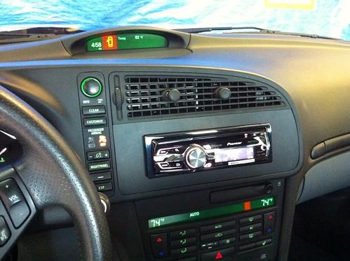 Saab Pioneer Radio Install