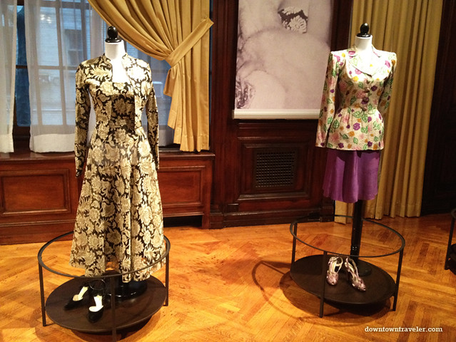Evita Peron dress at Argentine Consulate_Sep 13 2012