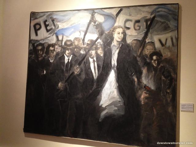 Evita Peron painting_Daniela Jozami