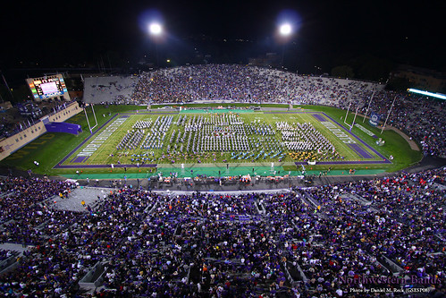 Northwestern University High School Band Day