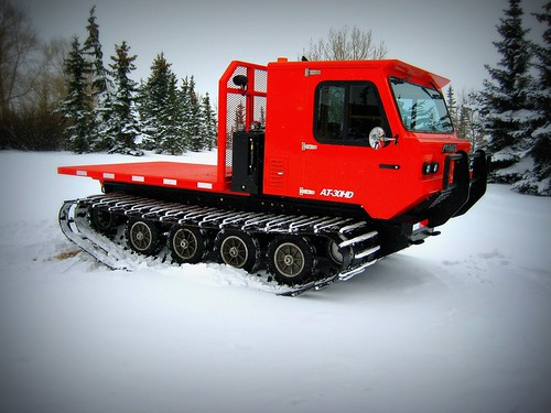 All Track AT-30HD Tracked vehicle for all season use