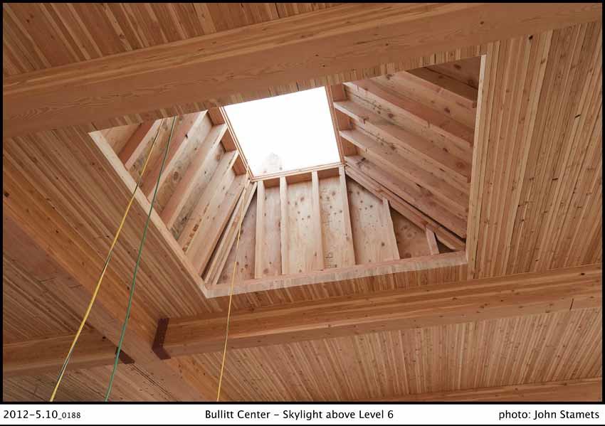 Photo gallery bullitt center for Skylight framing